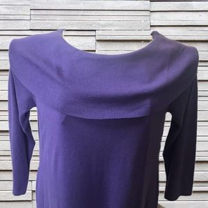 2c0cafeb66a Nina Leonard Dresses - NWT Lennie for Nina Leonard Purple Sweater Dress